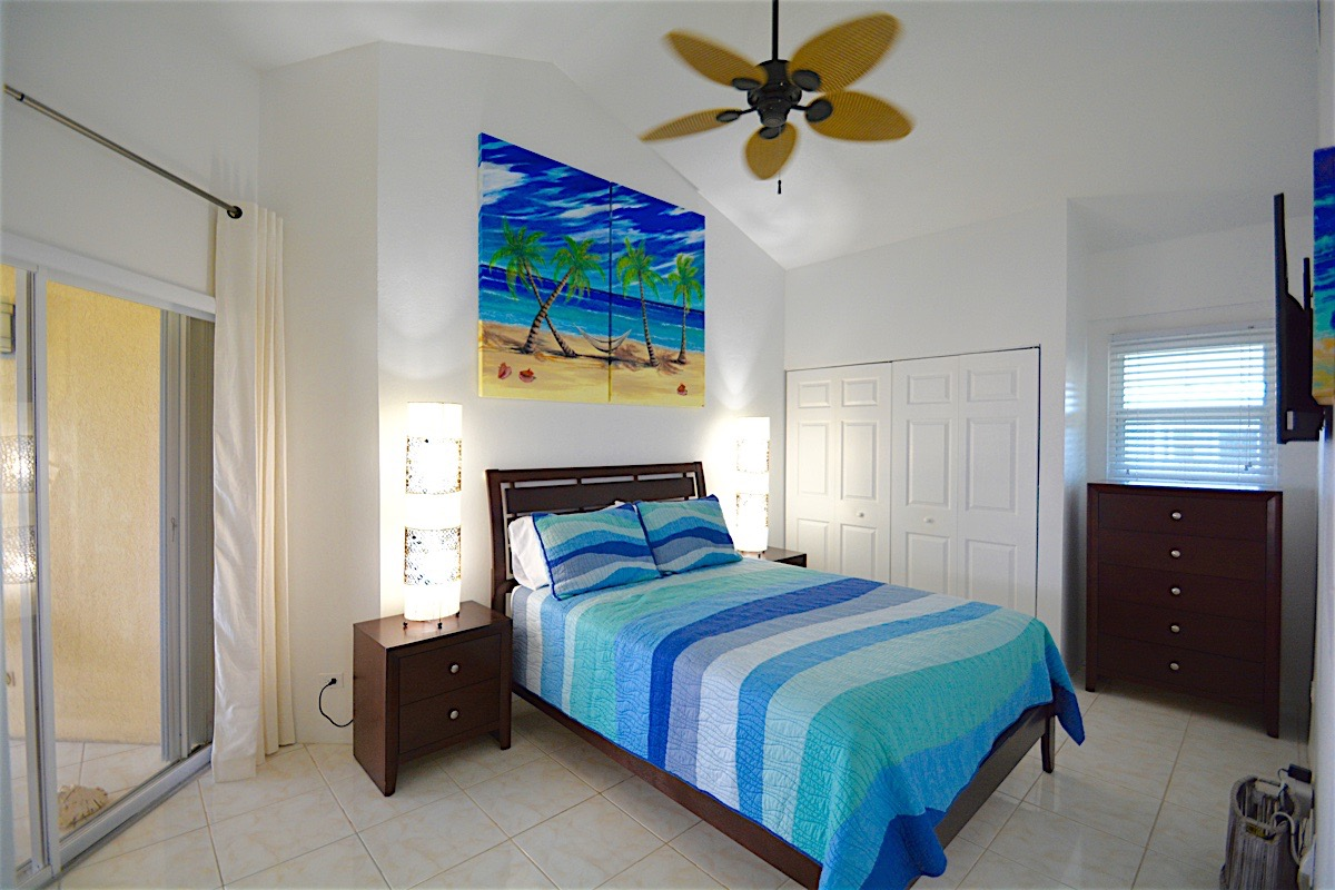 Exquisite bedrooms at the Cayman Reef Resort