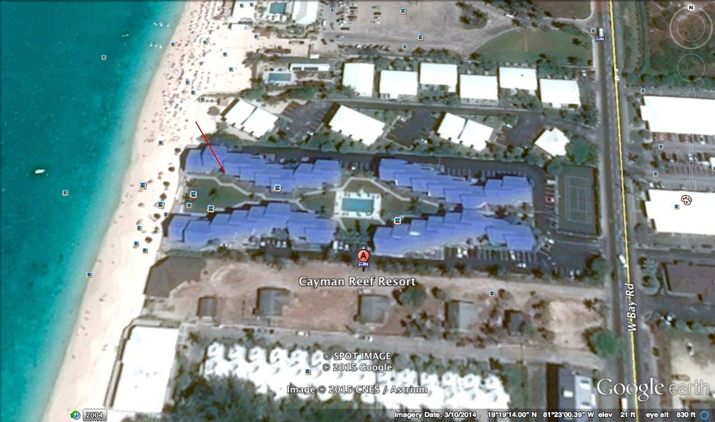 CaymanReefResort#42_Map
